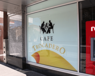 Cafe Trocadero Graphics